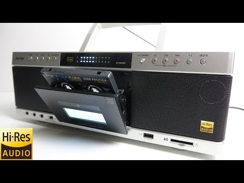 Review of the new Toshiba Aurex 'Hi-Res Cassette deck'