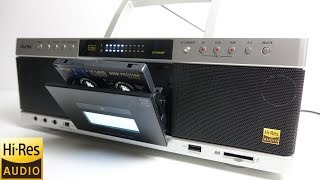 Review of the new Toshiba Aurex 'Hi-Res Cassette deck' thumbnail