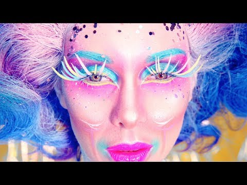 Timelapse video FACECHART Look: Color me Queen! Belgium NYX Professional make up face awards