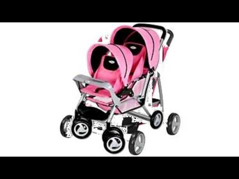 Graco baby doll double stroller - YouTube