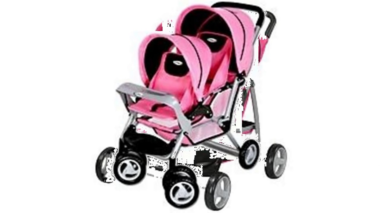 Twin Baby Doll Stroller Youtube