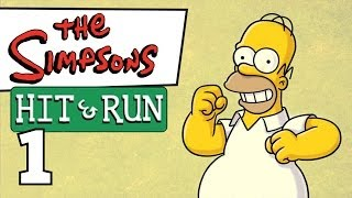 Simpsons Hit & Run — Часть 1. Прохождение с комментами