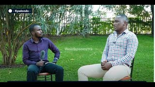 DAN NTALE - The Ex  Cranes star reveals it all about Uganda's soccer industry - MC IBRAH INTERVIEW