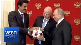 World Leaders Convene in Moscow for Finals: Putin Meets With Orban, Al Thani, Kitarovic