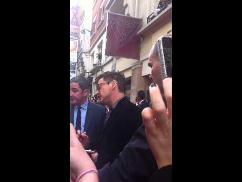 Robert Downey Jr Iron Man 3 Premiere Paris