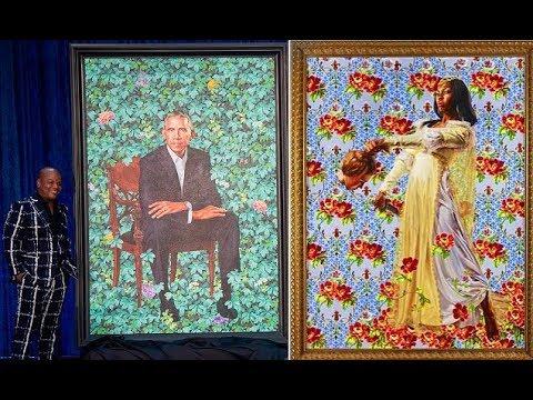 Obama artist painted black women decapitating white women