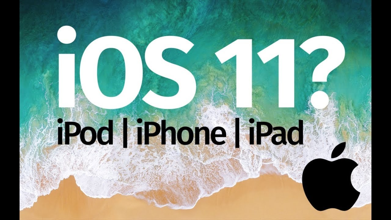 iOS 11 is compatible with these devices: iPhone iPad iPod