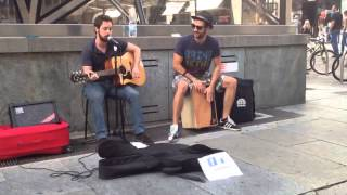 Скачать The Black Keys Lonely Boy Acoustic Busking Cover By L A Woods