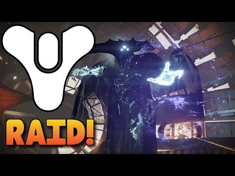 Destiny - KING'S FALL RAID FULL GAMEPLAY - The Taken King Raid Boss & Rewards! (Part 1)