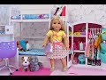 Doll Bunk Bed Bedroom And Closet Tour! Play Dress Up With Baby Dolls!