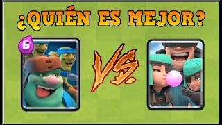 DUENDE GIGANTE vs PILLOS - Clash Royale - 1 vs 1 Reto