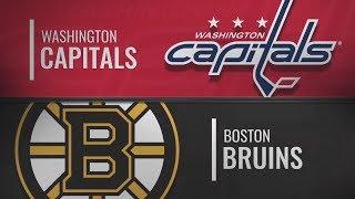 Бостон vs Вашингтон | Washington Capitals at Boston Bruins | NHL HIGHLIGHTS | НХЛ ОБЗОР МАТЧА