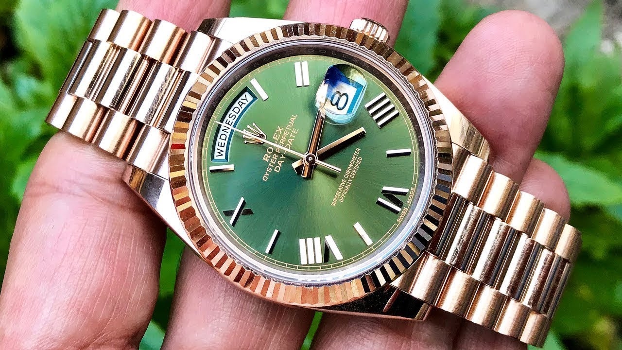 Rolex Day,Date 40 Presidential , I Think I\u0027ve Changed my Mind!