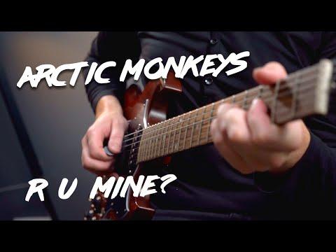 R U Mine? Arctic Monkeys Guitar Lesson Tutorial - How To Play