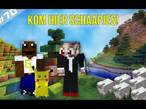 Minecraft Survival #70 - KOM HIER SCHAAPJES!