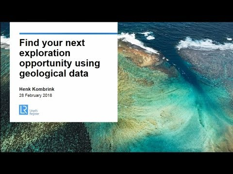 Webinar: Find your next exploration opportunity through regional geological data