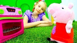 София Прекрасная - Свинка Пеппа печет пирожные - Игрушки для детей
