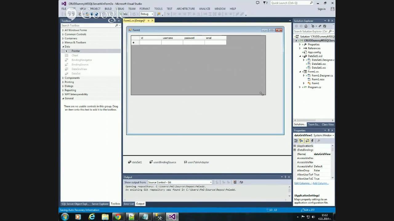 C# Събитийно Програмиране. MS SQL Server Connections with OleDb ...