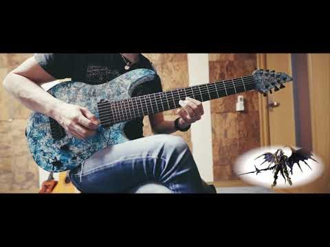 FF14 Rise Of The White Raven / 白銀の凶鳥、飛翔せり 8string Guitar Cover