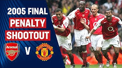 Full Penalty Shootout | Arsenal 5-4 Manchester United | 2005 FA Cup Final