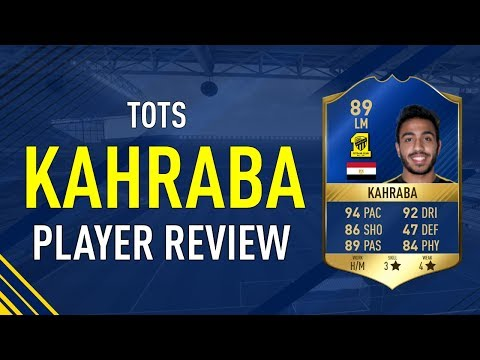 FIFA 17 TOTS KAHRABA (89) PLAYER REVIEW