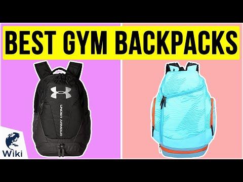 10 Best Gym Backpacks 2020