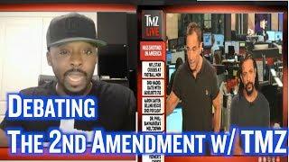 Debating The 2nd Amendment with TMZ after El Paso &  Dayton Mass Shootings