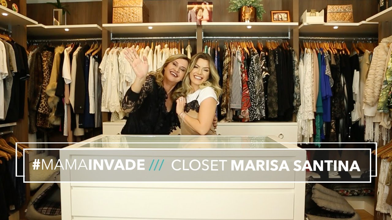dfad6e9e47ab2 MamáInvade  Closet da Marisa Santina - YouTube