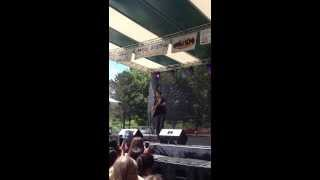 Keegan Allen Singing We Are Never Getting Back Together