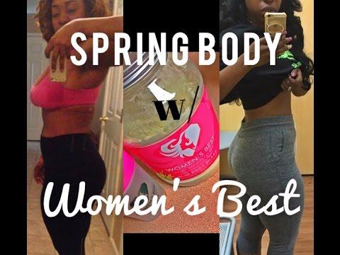 My Spring body challenge w/ Women's Best Slim Body Shake (REVIEW )