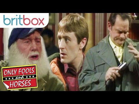 Del Boy Shows Off His Executive Remote Controlled Mobile Phone | Only Fools and Horses