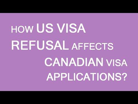 How US visa refusal affects Canadian visa