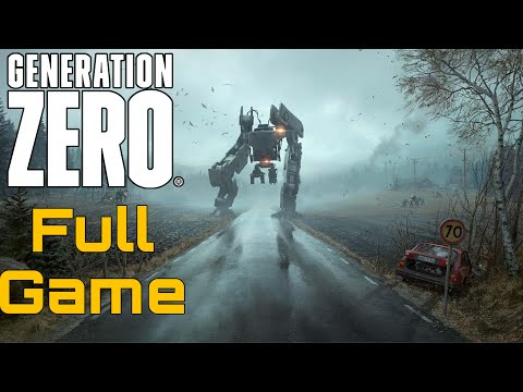 Generation Zero Full Playthrough 2019 (Solo) (All Main Missions) No Commentary Longplay