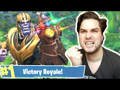 *NEW* IK WIN HARD ALS THANOS! ??? - Fortnite Battle Royale (Nederlands) thumbnail