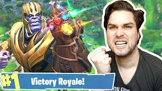 *NEW* IK WIN HARD ALS THANOS! 😁💪🏽 - Fortnite Battle Royale (Nederlands)