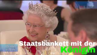 Queen Elizabeth II besucht Berlin - Staatsbankett