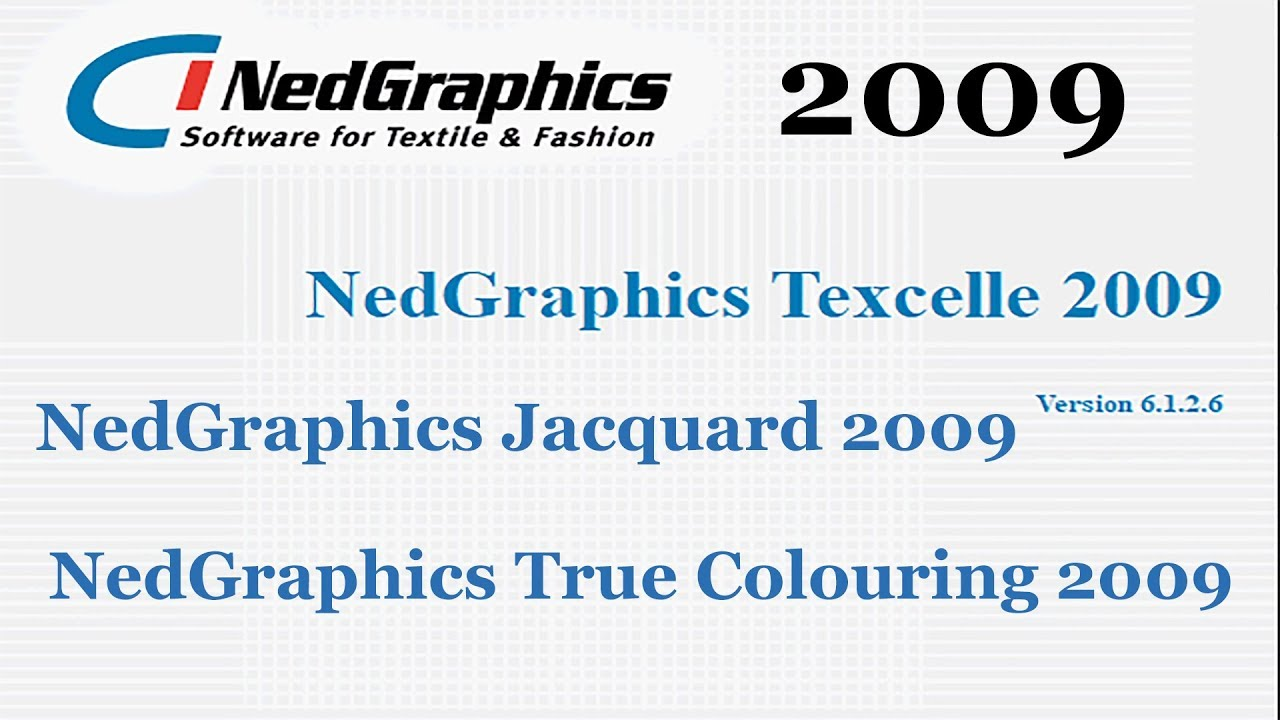 Nedgraphics Texcelle 2009 Jacquard 2009 True Coloring 2009 And Others Youtube