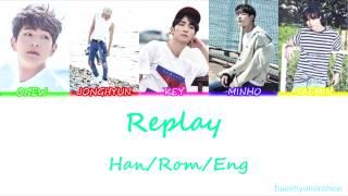SHINee (샤이니) - Replay (누난 너무 예뻐) Color Cod...