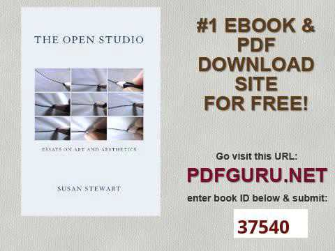 The Open Studio Essays on Art and Aesthetics