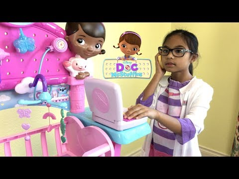 Disney Doc McStuffins Get Better Talking Mobile with Snuggles & Unicorn | Toys Academy