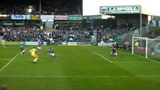 Newcastle Uniteds Andy Carroll Puts one over against Argyle.MP4