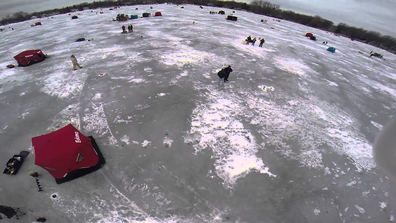 crystal lake ice fishing derby 2015 youtube