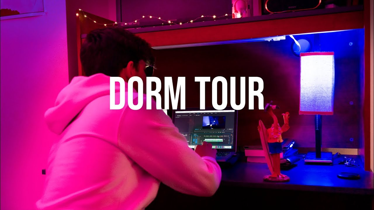 Coolest Dorm Room Guys Dorm Tour Youtube