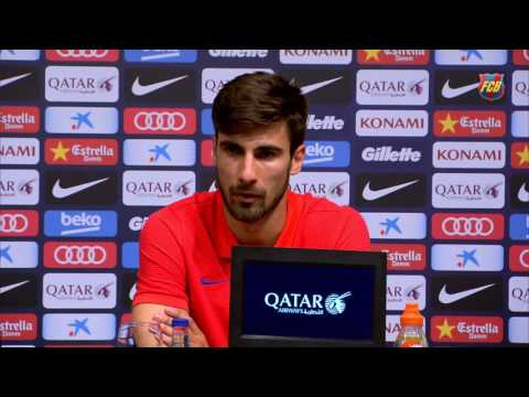 """André Gomes : """"I'm here to realize a dream"""""""
