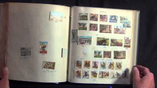 Gigantic all World Stamp Collection in 21 Volumes