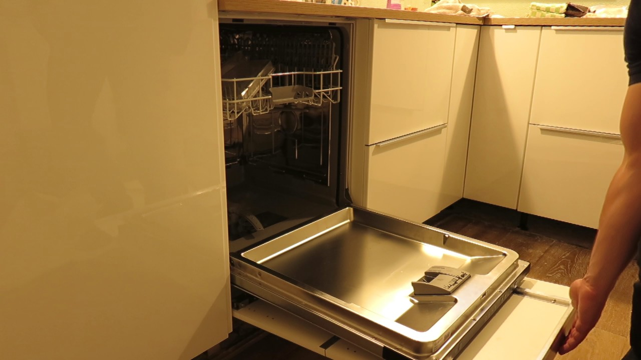 Keukenfronten Ikea Keuken Siemens Dishwasher With Ringhult Doorpanel In Ikea Kitchen