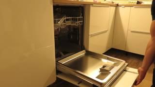Siemens vaatwasser met Ringhult Ikea keuken front
