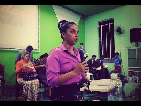 Missionária Camila Barros – AD São João do Oriente (MG)