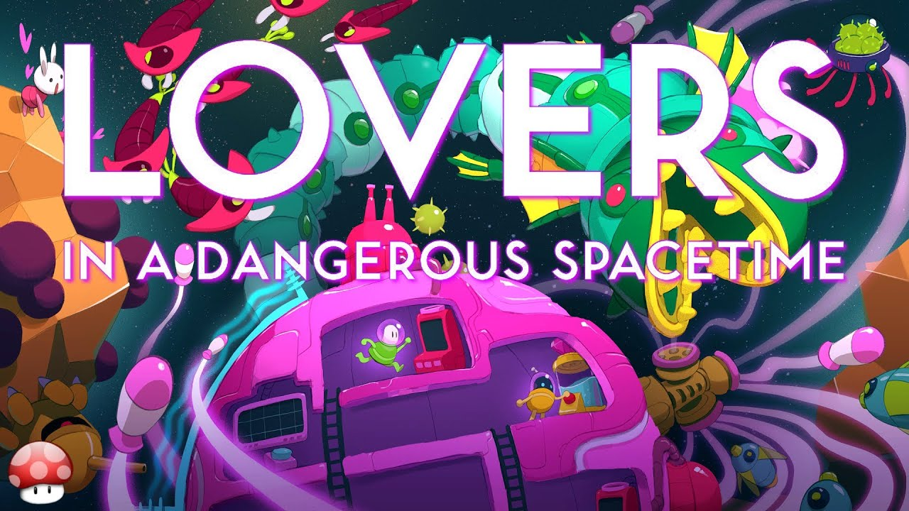 Lovers In A Dangerous Spacetime Co Op Action Space Shooter