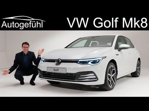 all-new Volkswagen Golf Mk8 Exterior Interior Premiere - Autogefühl